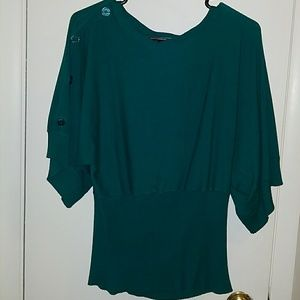Teal Sweater - Plus size!